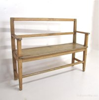 Small Pine Bench Seat - Antiques Atlas