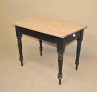 Small Pine Kitchen Table - Antiques Atlas