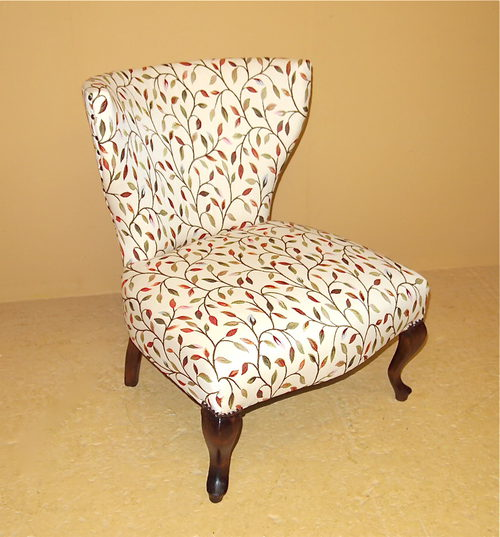 Small Upholstered Chair  R3505  Antiques Atlas