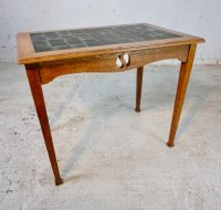 Arts And Crafts Oak Kitchen Table For Liberty & Co ...