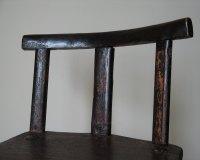 19th Century Irish Painted Primitive Chair - Antiques Atlas
