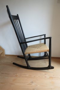 Antiques Atlas - Danish Rocking Chair By Hans J Wegner