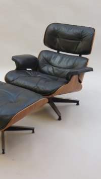 Antiques Atlas - Eames Lounge Chair And Ottoman