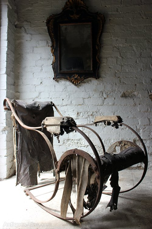 Victorian Wrought Iron Rocking Chair C1850  Antiques Atlas