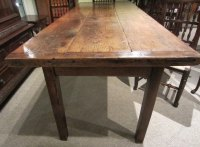 English Oak Farmhouse Table - Antiques Atlas