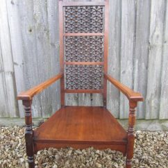 High Back Chairs With Arms Exercise Ball Arts And Crafts Liberty & Co Moorish Armchair - Antiques Atlas