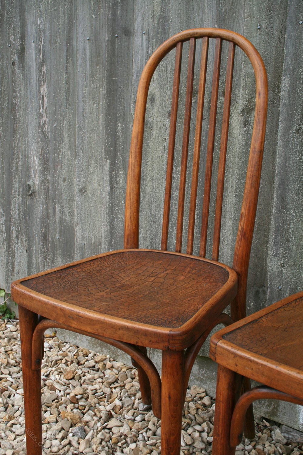 Pair Of Thonet Cafe Chairs By Josef Hoffmann  Antiques Atlas