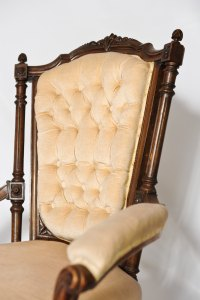 Victorian Bedroom Chairs - Antiques Atlas