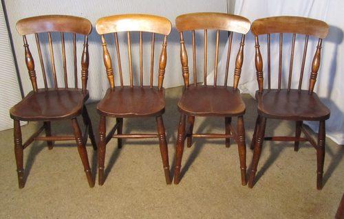 kitchen chairs wood igloo fishing chair mabinogi 4 victorian beech elm stick back antiques atlas