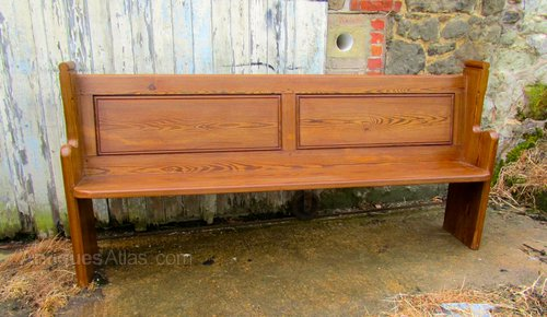 pine kitchen bench hotels with in los angeles a victorian pitch church pew or antiques atlas