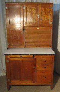 An Art Deco Hoosier Kitchen Cabinet Dresser - Antiques Atlas