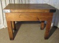 Butchers Table, Chopping Block Kitchen Island - Antiques Atlas