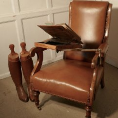 High Chairs On Sale Cars Lounge Chair Gentleman's Library With Reading Stand - Antiques Atlas