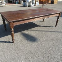 Antique French Pine Farmhouse Dining Table - Antiques Atlas