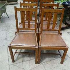 Set Of Six Dining Chairs For Sale Cheap Chair Ties Antique Oak - Antiques Atlas