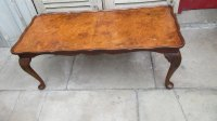 Vintage Walnut Coffee Table - Antiques Atlas