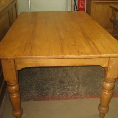 Pine Kitchen Table Oakley Sink Review Victorian Antiques Atlas