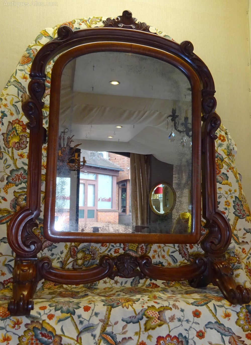 Antiques Atlas  A Victorian Carved Mahogany Framed Swing