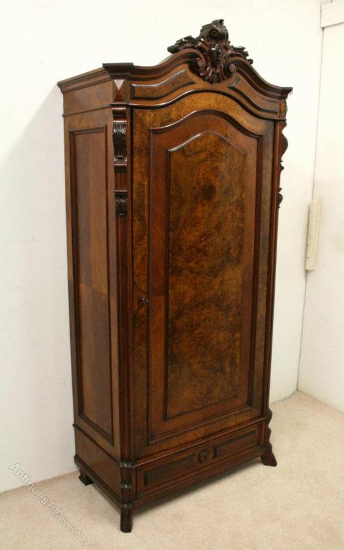 One Door Wardrobe Armoire