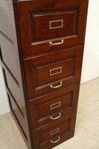 Mahogany Filing Cabinet - Antiques Atlas