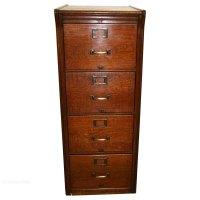 Oak Filing Cabinet - Antiques Atlas