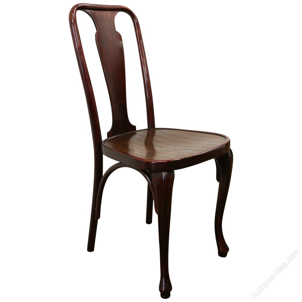 Set Of 10 Thonet Bentwood Chairs  Antiques Atlas