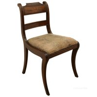Set Of 6 Regency Mahogany Dining Chairs - Antiques Atlas