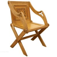 Victorian Oak Gothic Hall Chair - Antiques Atlas