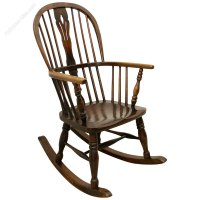 Victorian Windsor Rocking Chair - Antiques Atlas