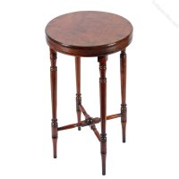Regency Mahogany Lamp Table - Antiques Atlas