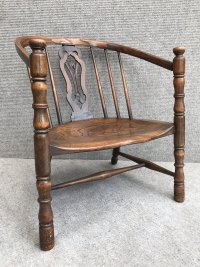 Victorian Small Windsor Tub Chair - Antiques Atlas