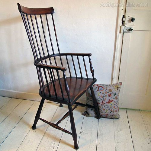 windsor back chairs for sale best nursery a darvel stick chair - antiques atlas
