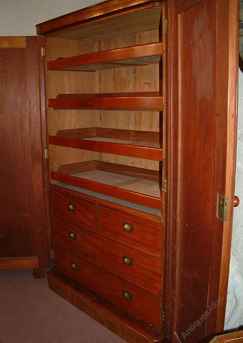 Antique Linen Cabinet