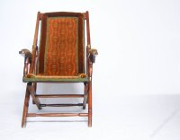 Victorian Campaign Folding Chair By Heal & Son - Antiques ...