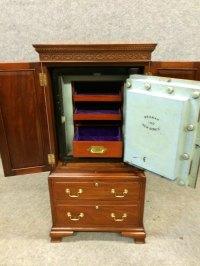 Antiques Atlas - Bramah Safe Cabinet