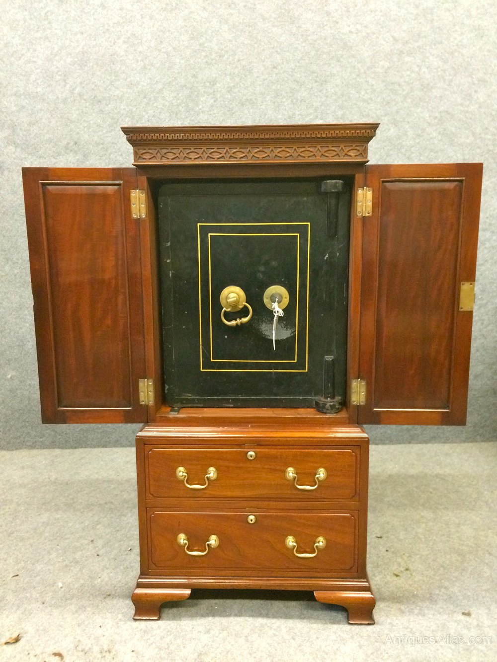 Antiques Atlas Bramah Safe Cabinet