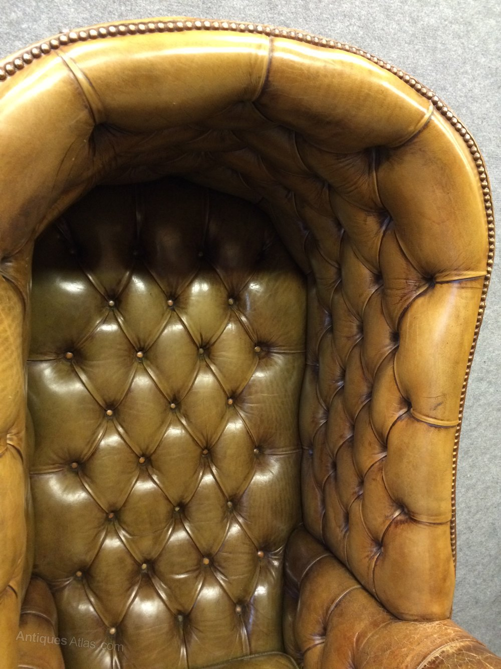 tan leather chair sale swing online in india old hall porter's - antiques atlas