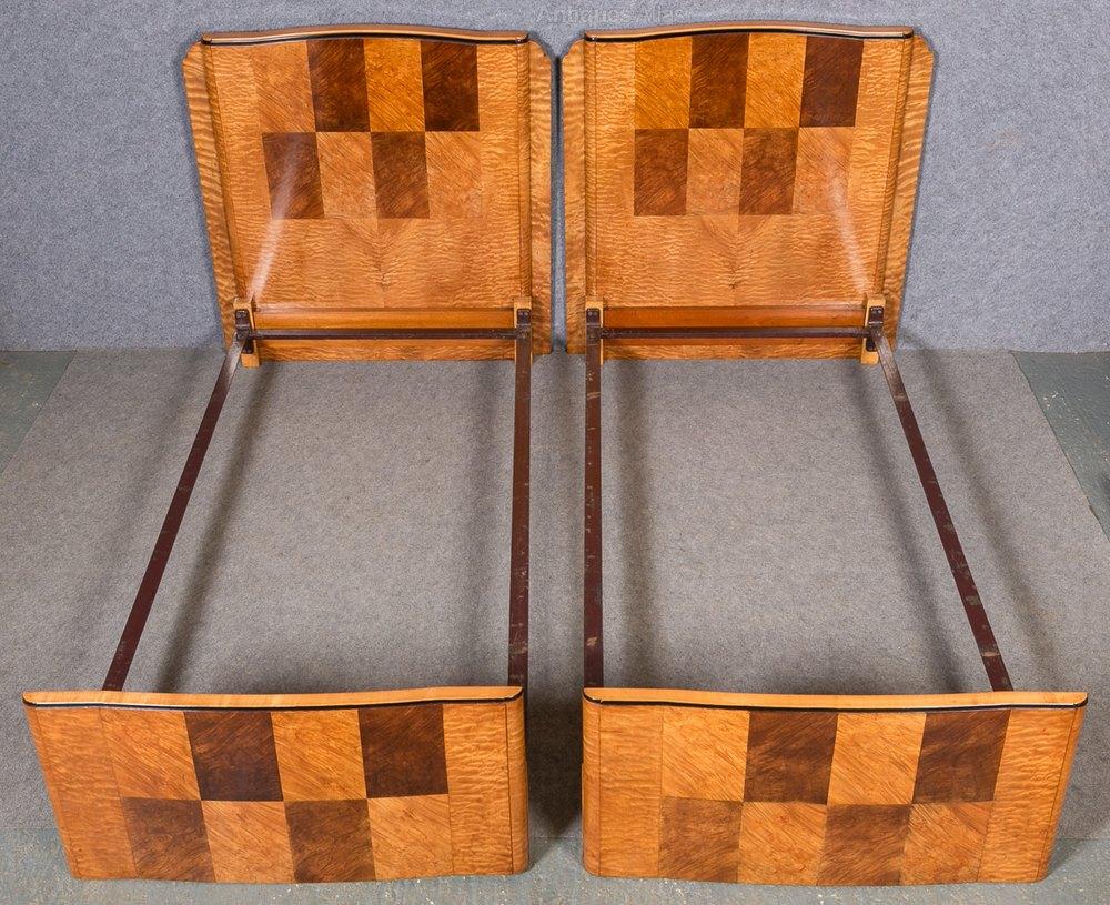 Pair Of Art Deco Beds