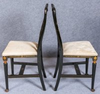 Pair Of Chinoiserie Chairs - Antiques Atlas