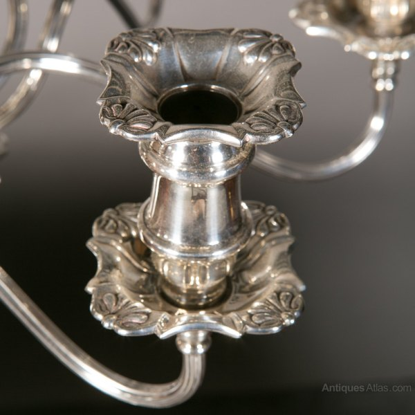 Antiques Atlas - Silver Plated Candelabra