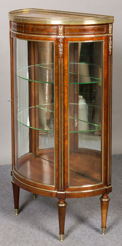 Small French VitrineDisplay Cabinet Antiques Atlas