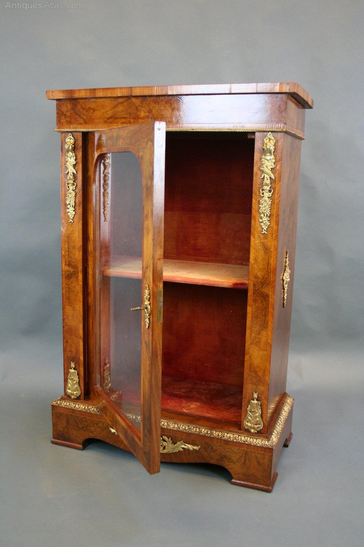 Victorian Pier Display Cabinet  Antiques Atlas
