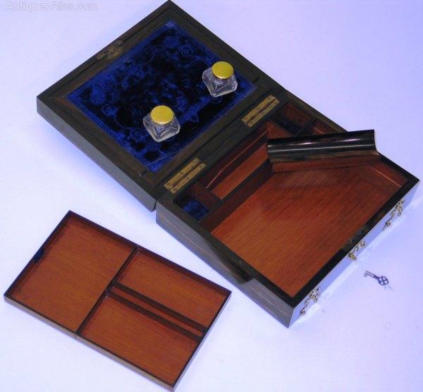Antiques Atlas - Stationery Writing Box