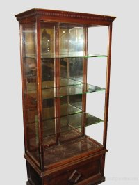 Glass Shop Display Cabinet. - Antiques Atlas