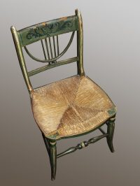 Regency Painted Chair - Antiques Atlas