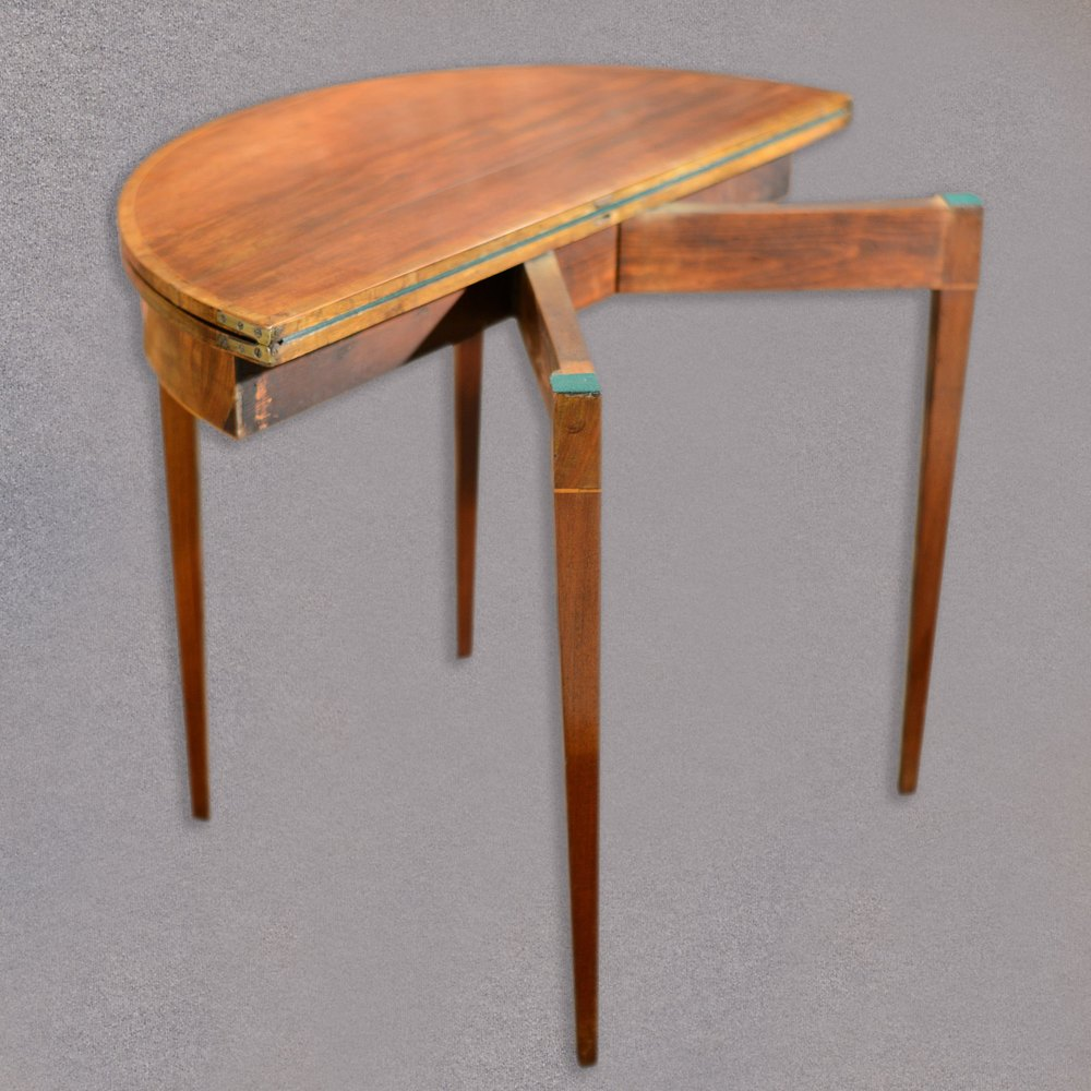 Antique Fold Over Card Table Side Table  Antiques Atlas