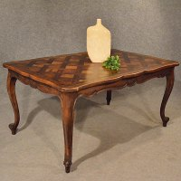 Antique Kitchen Dining Table French Beech Large - Antiques ...