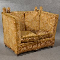 Antique Knole Sofa Couch Settee Large 3 Seater - Antiques ...
