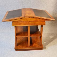Chair And Matching Stool Baby Cushion Bookcase Writing Desk Double Library Reading Table - Antiques Atlas