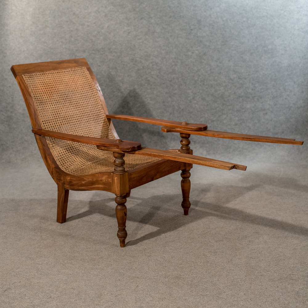 fold out chairs cheap pine dining large antique plantation steamer chair vintage - antiques atlas